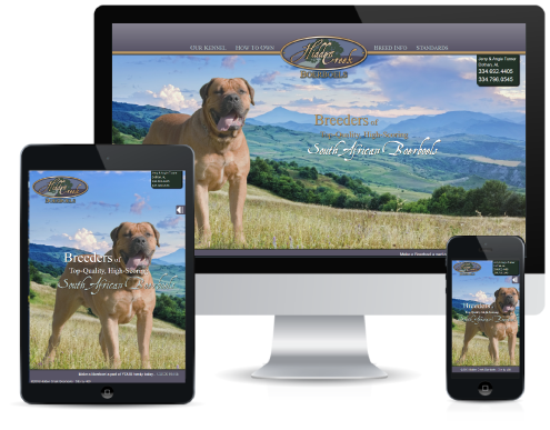 Dog Breeder Web Project