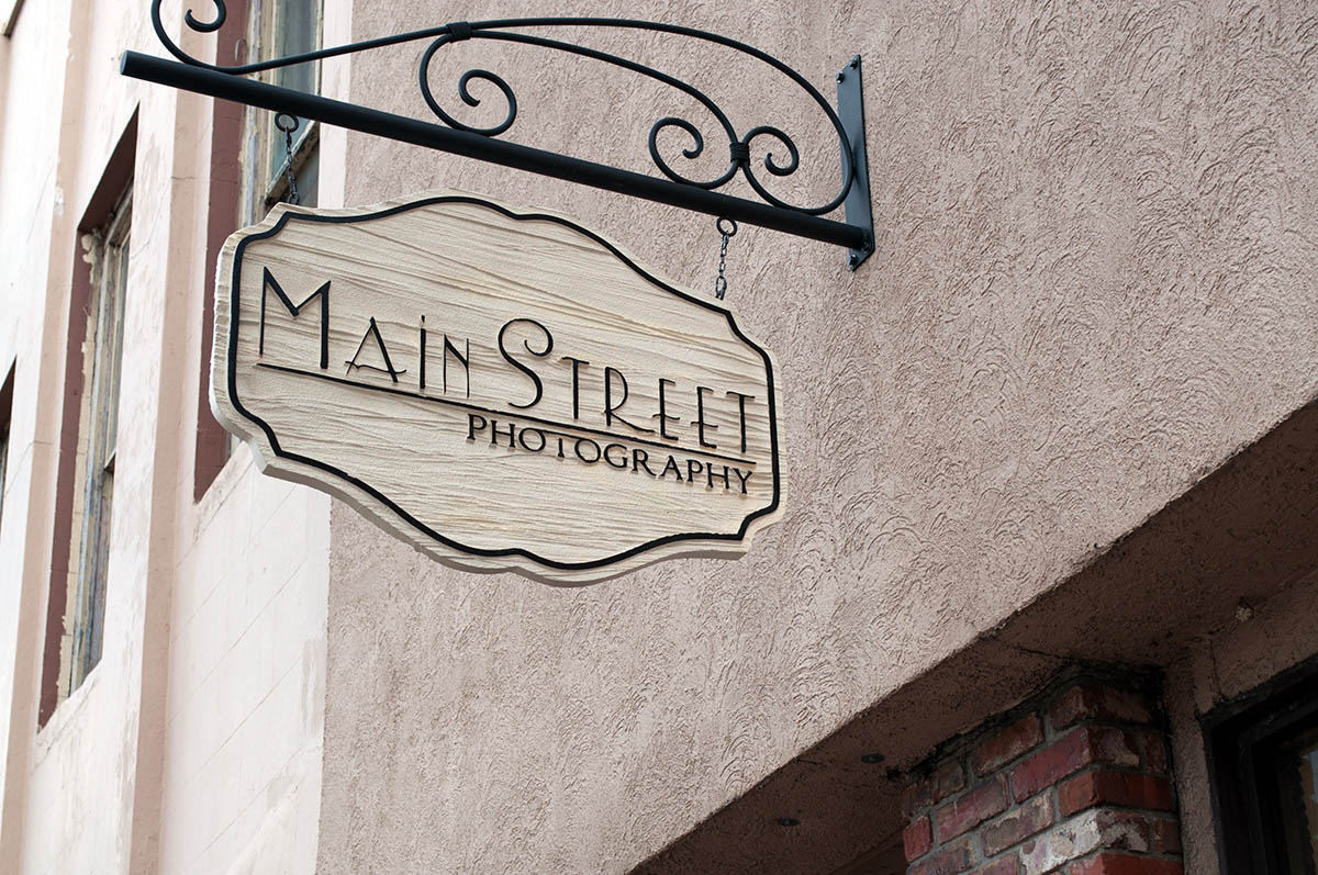 Main Street Photography Outdoor Signage Design