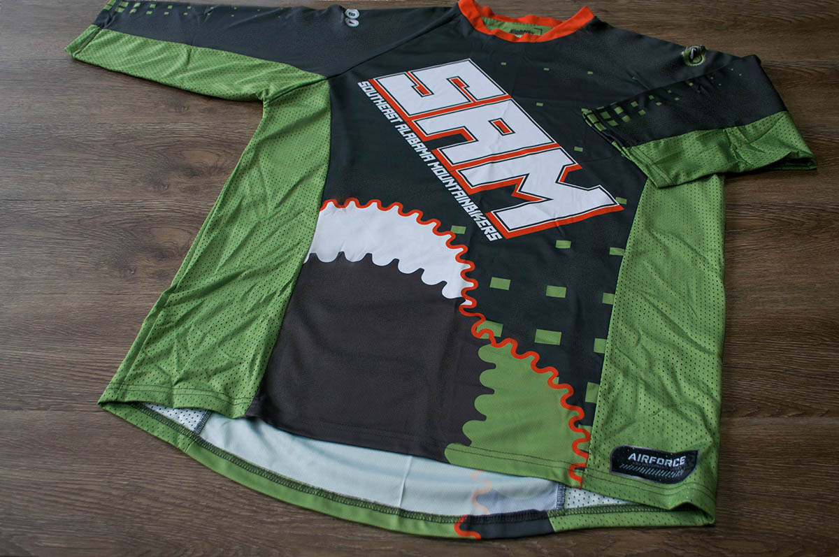 Team Jersey Design for Southeast Alabama Mountainbikers
