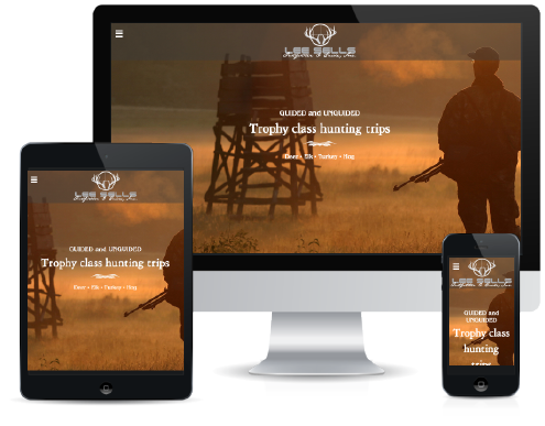 Lee Sells Outfitter & Guide, Inc. Responsive Web Design